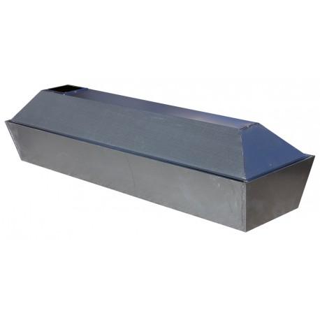 Metalleinsatz Sarg